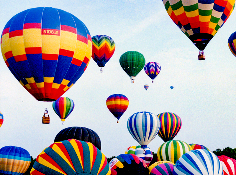 The Alabama Jubilee Hot Air Balloon Classic is held every Memorial Day Weekend at Point Mallard Park in Decatur, northwestern Morgan County.