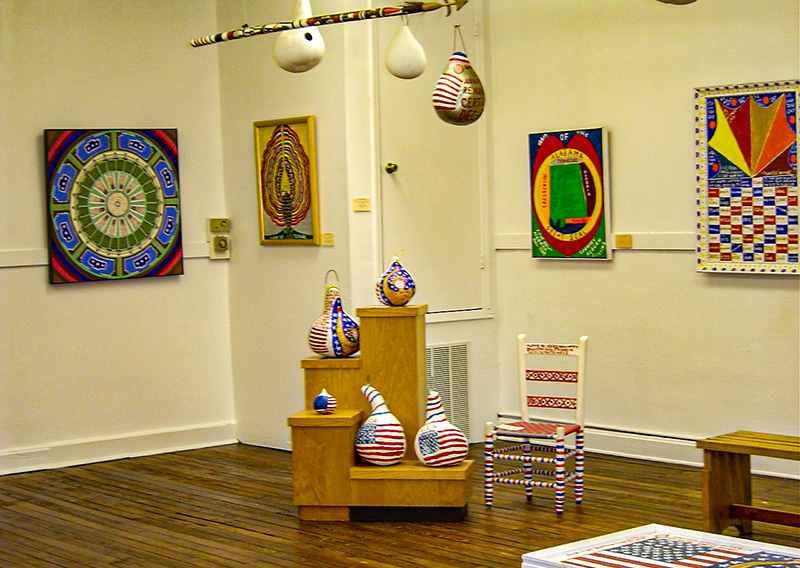 The Fayette Art Museum in Fayette County displays the work of local artists such as renowned outsider artist Jimmy Lee Sudduth.