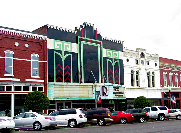 Talladega's Art Deco Ritz Theatre was built in the 1930s and was originally opened as a