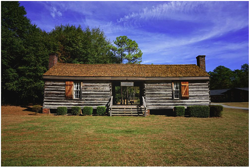 Dogtrot Cabin At Fort Mitchell Encyclopedia Of Alabama