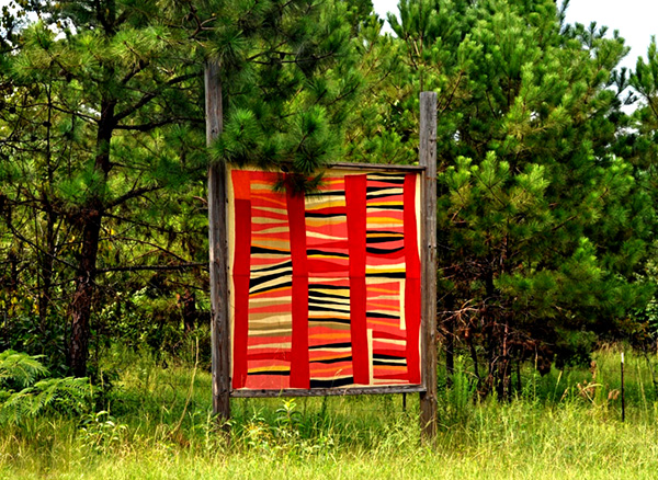 The Gee's Bend Quilt Mural Trail was created in 2007 to highlight the world-renowned quilts produced by the artisans of the Gee's Bend community in Wilcox County.