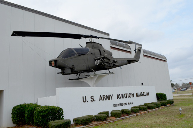 The United States Army Aviation Museum, located at Fort Rucker, Dale County, has a large collection of fixed-wing and rotary-wing aircraft dating from the 1910s.