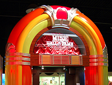 The Alabama Music Hall of Fame in Tuscumbia was conceived by the Muscle Shoals Music Association in the 1980s to honor accomplished Alabama musicians.